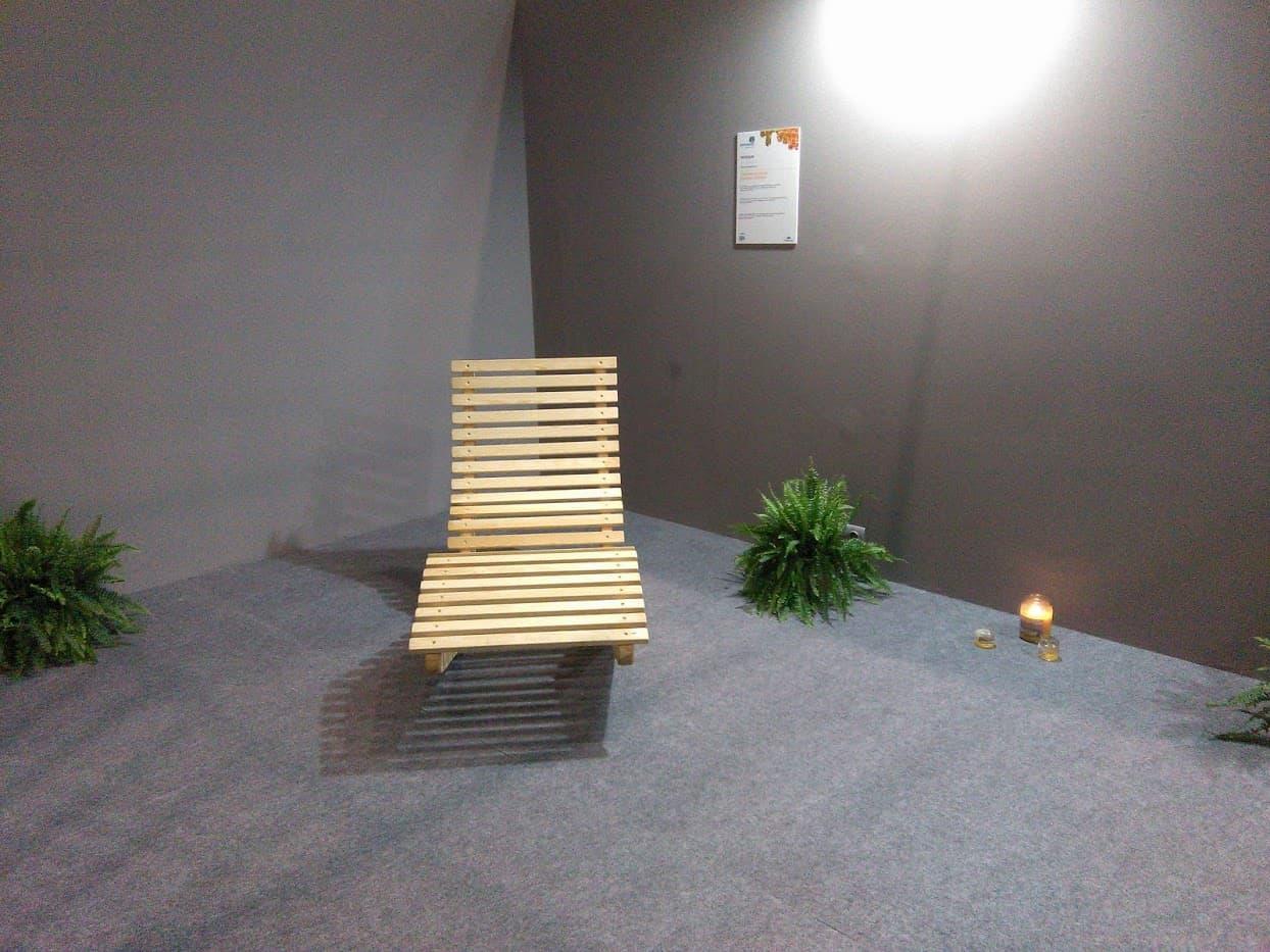 Tumbona de madera balancin