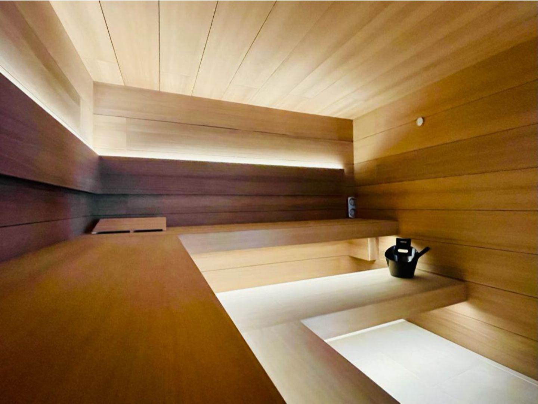Sauna a medida con diseño