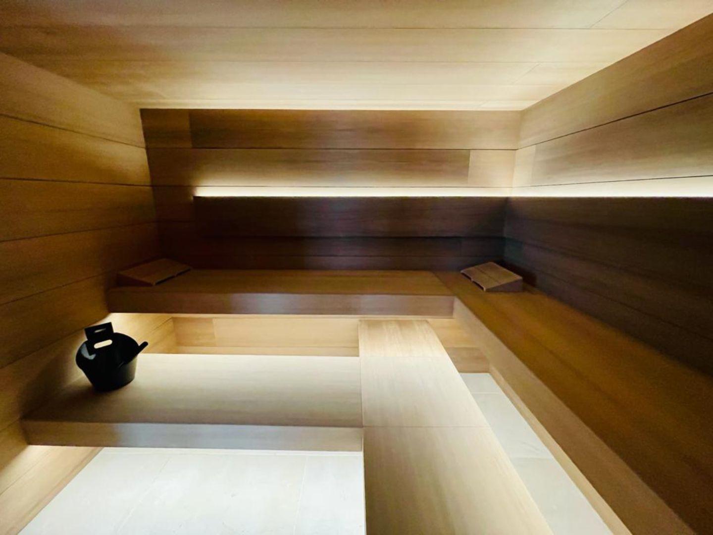 Sauna madera diseño