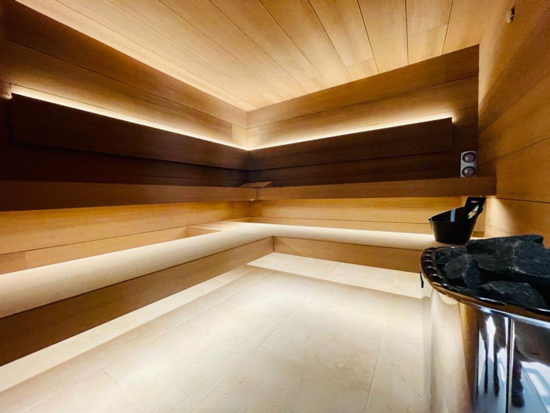 sauna diseño